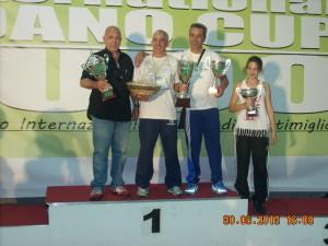 Podio Societa' Loano Cup 2013